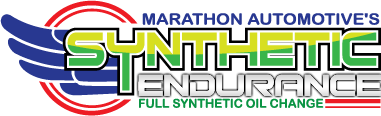 Marathon Automotive's synthetic endurance full synthetic oil change